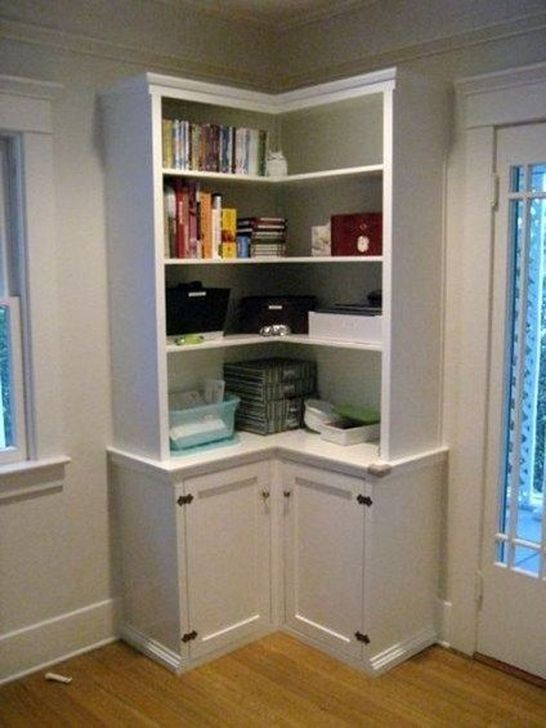 99 Luxury Cabinet Design Ideas For Small Corner - Corner storage cabinet, Bedroom storage for small rooms, Corner storage, Corner bookshelves, Bedroom furniture redo, Kitchen corner storage - Smaller living areas are becoming more and more common these days  This is especially true if you are living in …