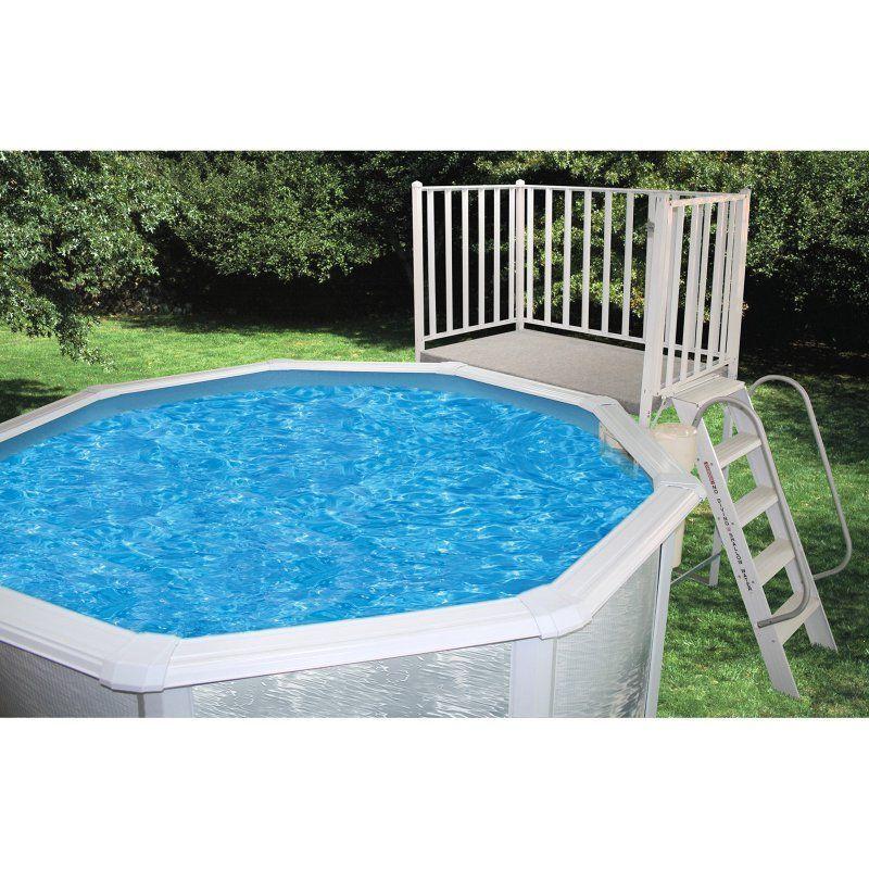 Heritage Aluminum Free Standing Pool Deck Fs 5x6x52 Sly052 2 Swimming Pool Decks Above Ground Pool Decks Swimming Pools