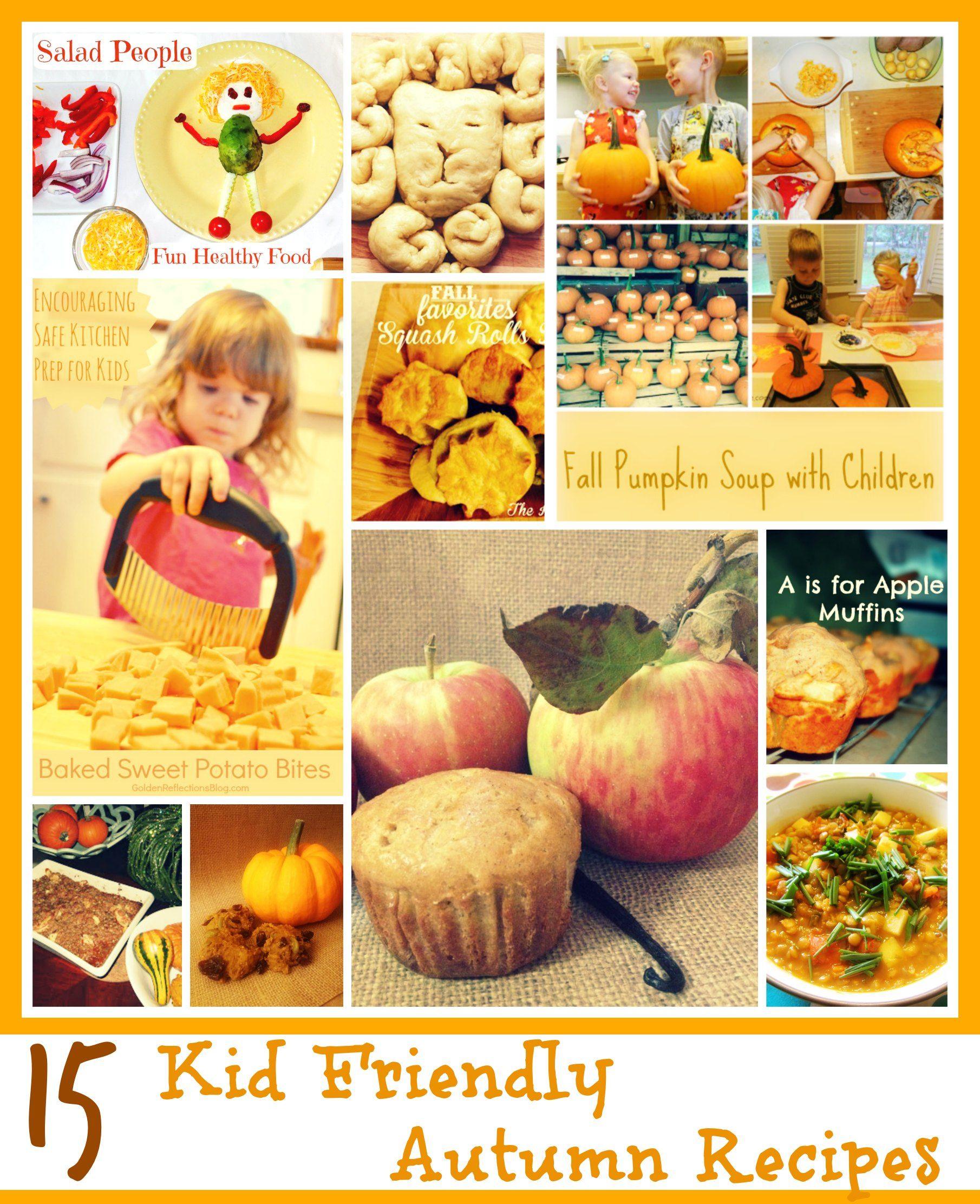 15 Kid Friendly Autumn Recipes