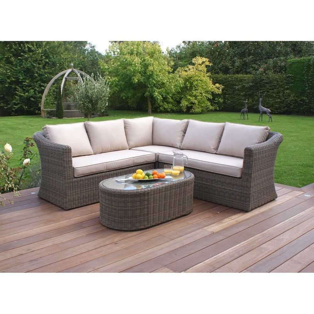 Garden Rattan Corner Sofa Set Small Aluminum Frame Lawn Patio Outdoor Furniture Cornersofa Rattan Corner Sofa Cheap Garden Furniture Outdoor Furniture Sale