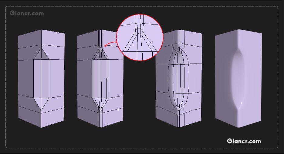 Essential Tips Hard Surface Small Details Part 02 советы для моделей низкополигональная модель 3d моделирование