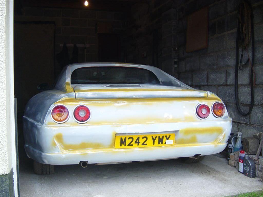 Ferrari 355 Replica, Unfinished Project, Needs Paint, Classic, Kit ...