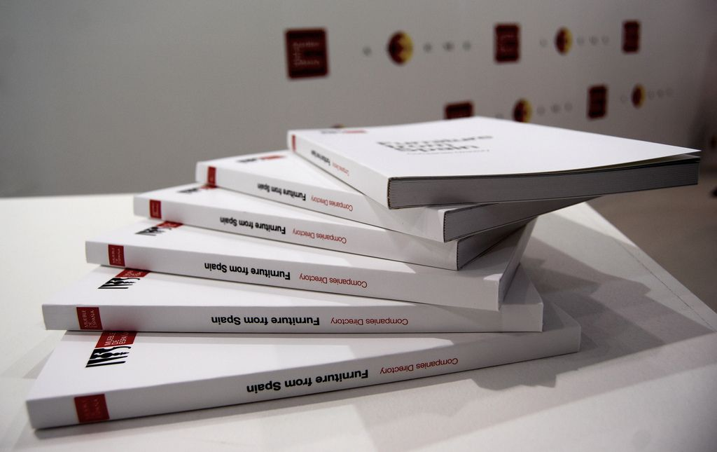 MUEBLE DE ESPAÑA's catalogues, a first step to get in touch with the Spanish furniture industry