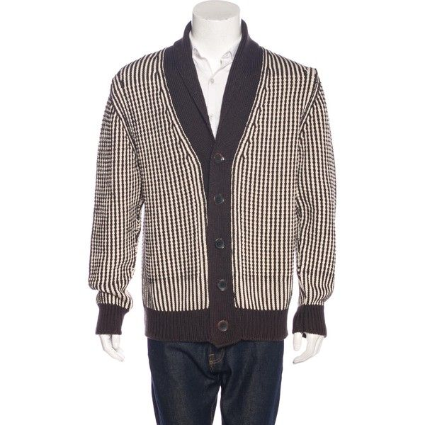 Pre-owned Tom Ford Silk-Blend Shawl Cardigan ($795) ❤ liked on ...