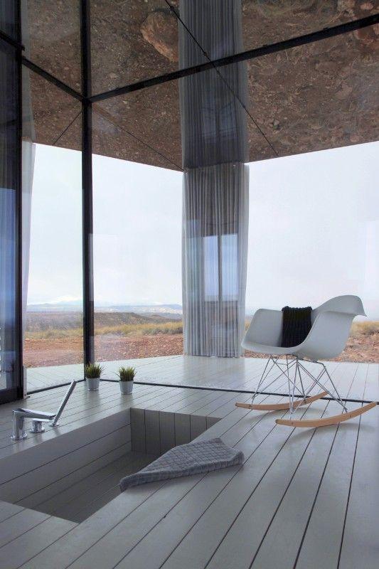 Img ofis arhitekti the glass house gorafe desert andalucia spain also top houses of internal affairs pinterest rh