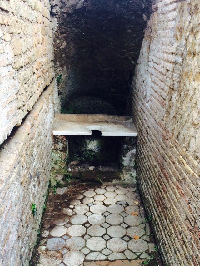 Toilet in Ostia
