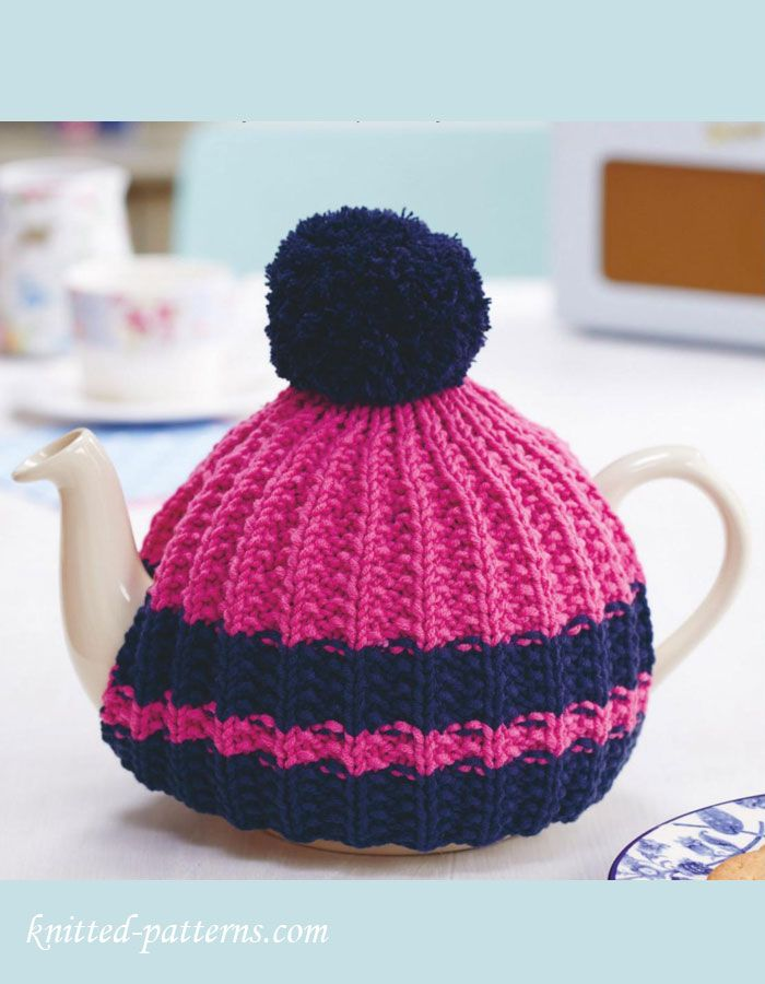 Hand Knitted Tea Cosy Pattern Free Free Knitting Patterns