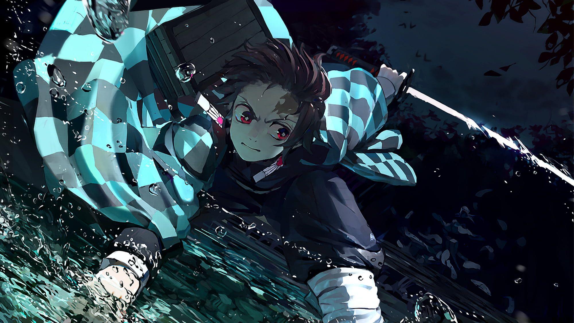 Anime Demon Slayer Kimetsu No Yaiba Tanjirou Kamado 1080p Wallpaper Hdwallpaper Deskto In 2020 Cool Anime Wallpapers Hd Anime Wallpapers Anime Wallpaper Download