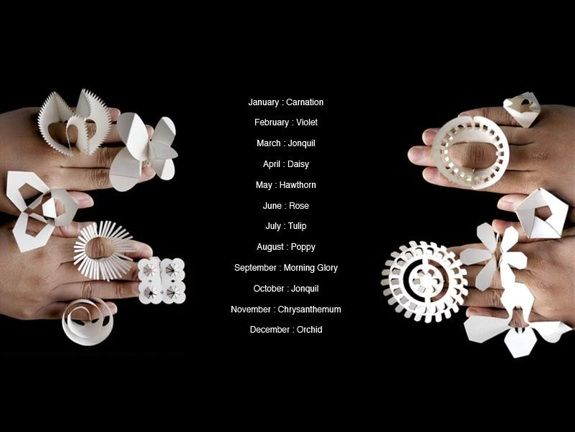 paper rings by nutre jeweller and tithi--TT:NT