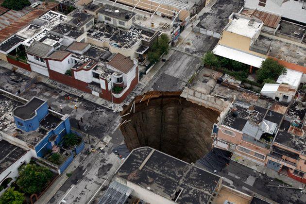 7 Terrifying Sinkhole Disasters Guatemala City Guatemala Travel