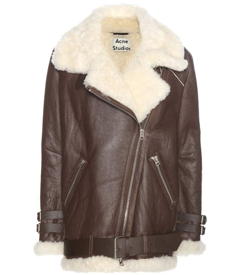 b04ed68ad987 ACNE STUDIOS Velocite Leather Jacket.  acnestudios  cloth  fur ...