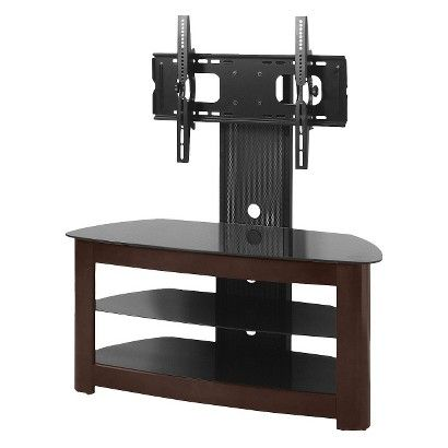 Target Espresso Tv Stand With Removable Mount Fits Upto 52 Tv
