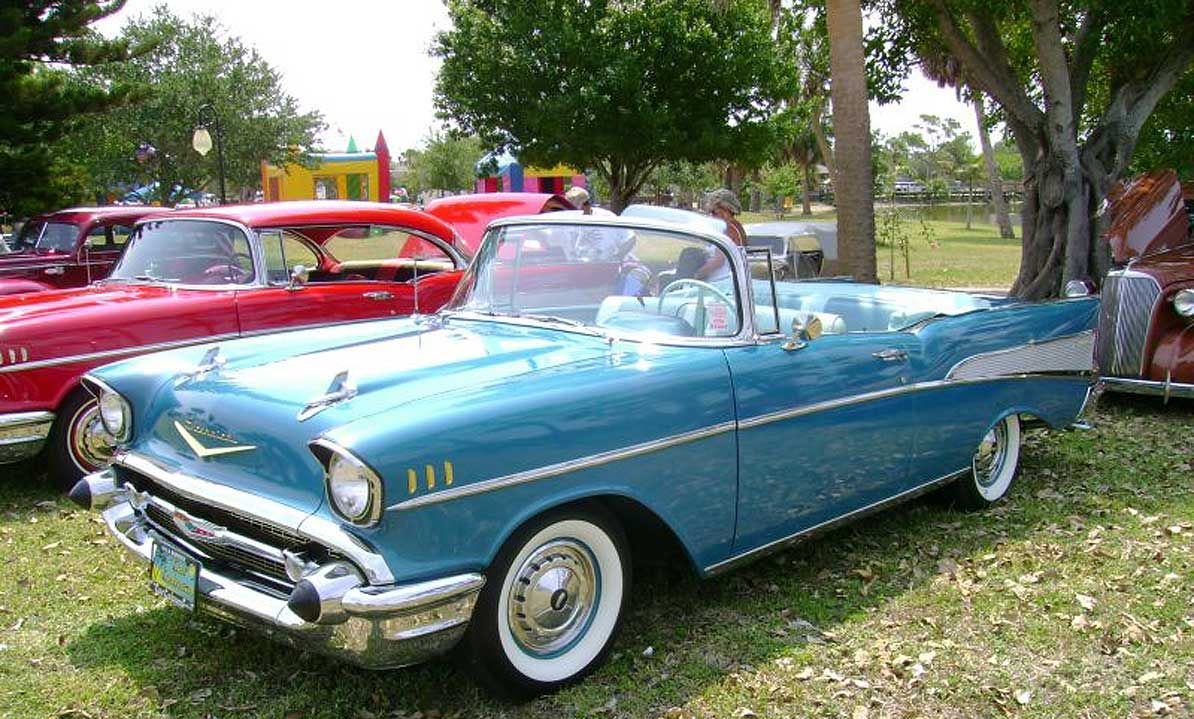 Chevy Hardtop Convertible 1957 Impala Car Pics