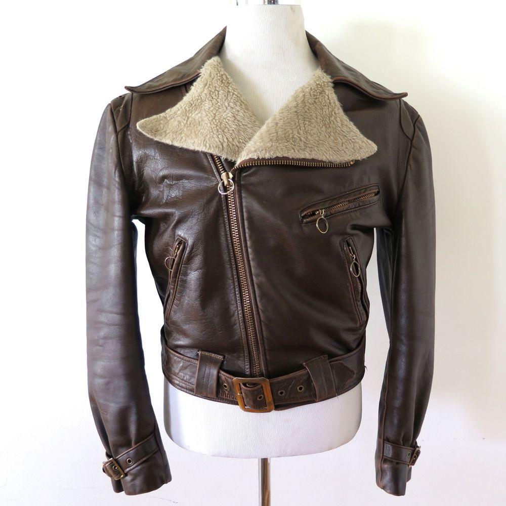 Original leather jacket 70s ynVEL4