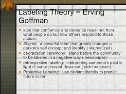 erving goffman theory