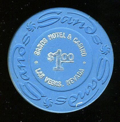 """$1 Sands 1970s """"Used in Poker Room"""" Value: 1.00 Price: 39.99 Condition: Clean"""