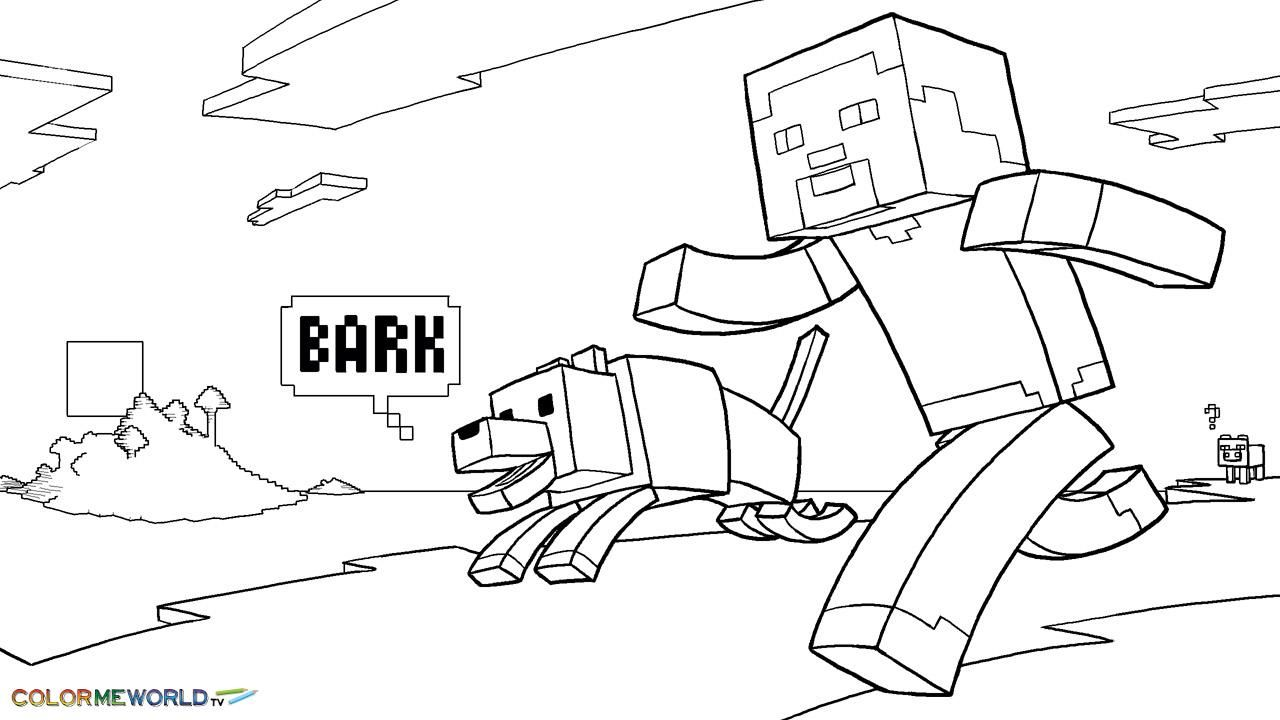 Free coloring pages roblox - Http Colorings Co Free Minecraft Coloring Pages