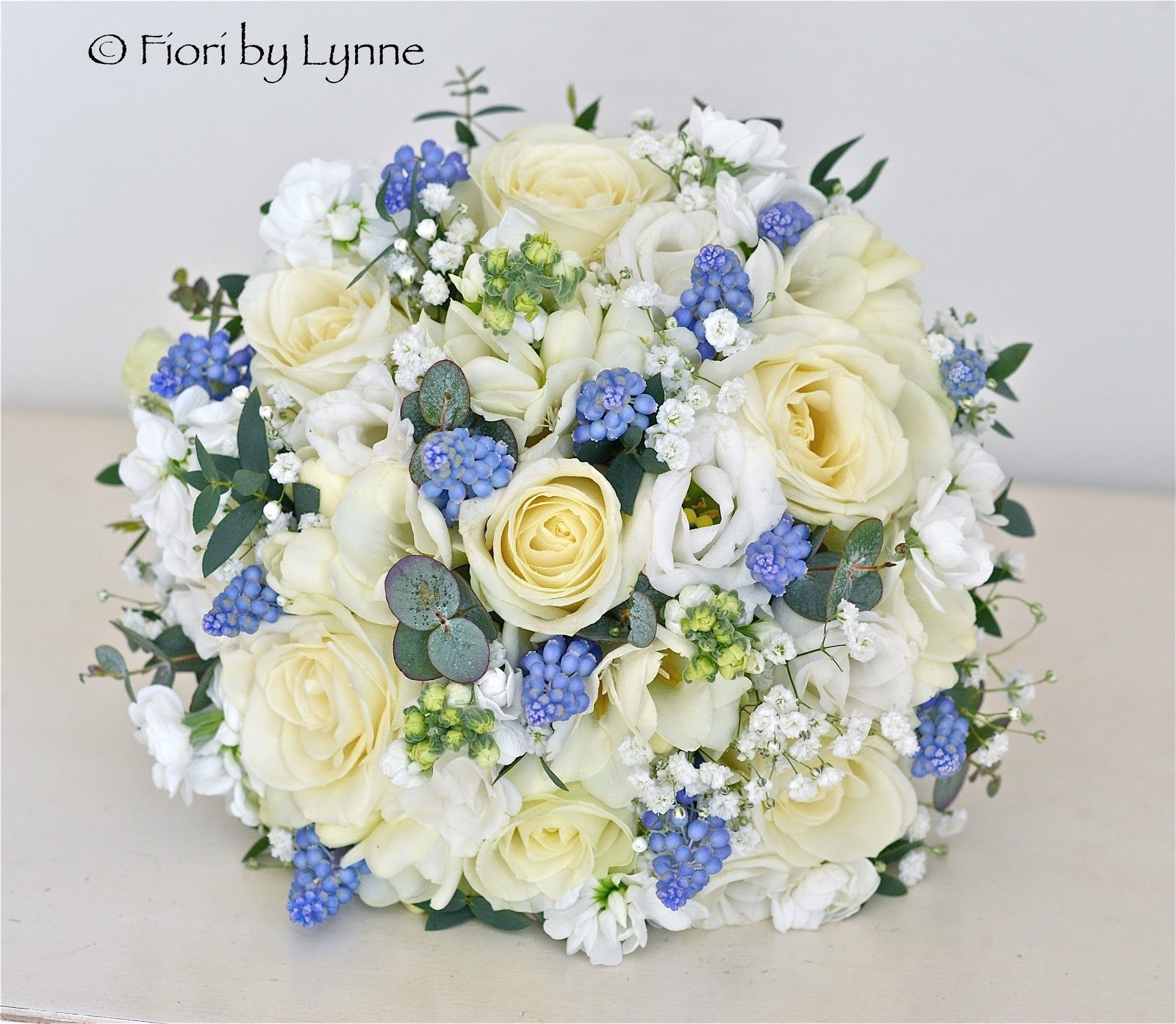 Country style blue wedding blue and white bouquet country style country style blue wedding blue and white bouquet country style using roses stocks izmirmasajfo Image collections