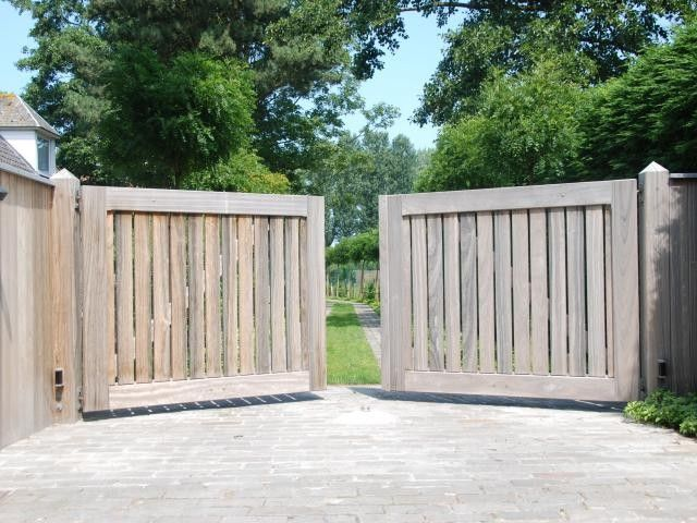 Portails de jardin - Portails - Livios Cloture terrain Pinterest