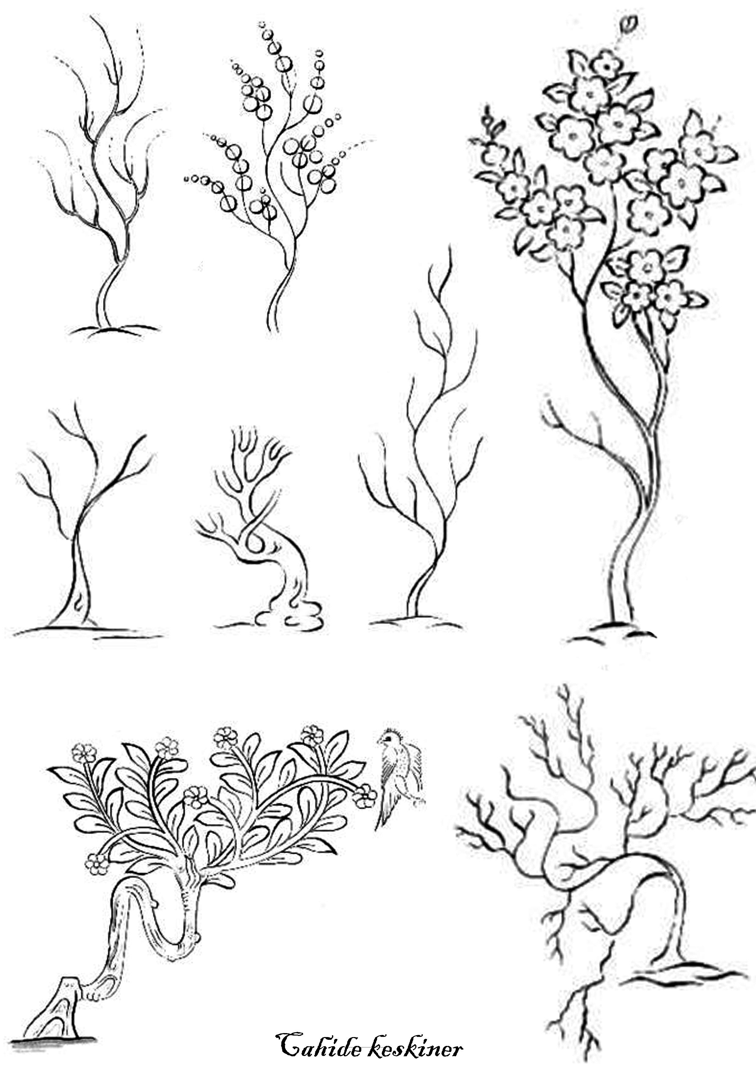 Pin by kalika 2 on hand embroidery patterns and designs i like drawing trees drawing flowers drawing art sketch painting painting art arabic pattern doodle drawings drawing people hand embroidery patterns bankloansurffo Gallery