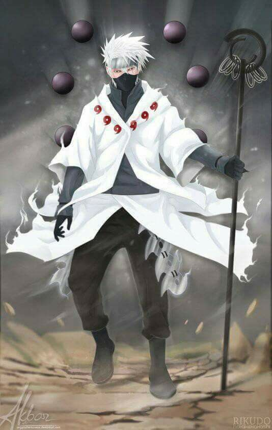 Kakashi Hatake Six Paths Wallpaper Naruto Shippuden Anime