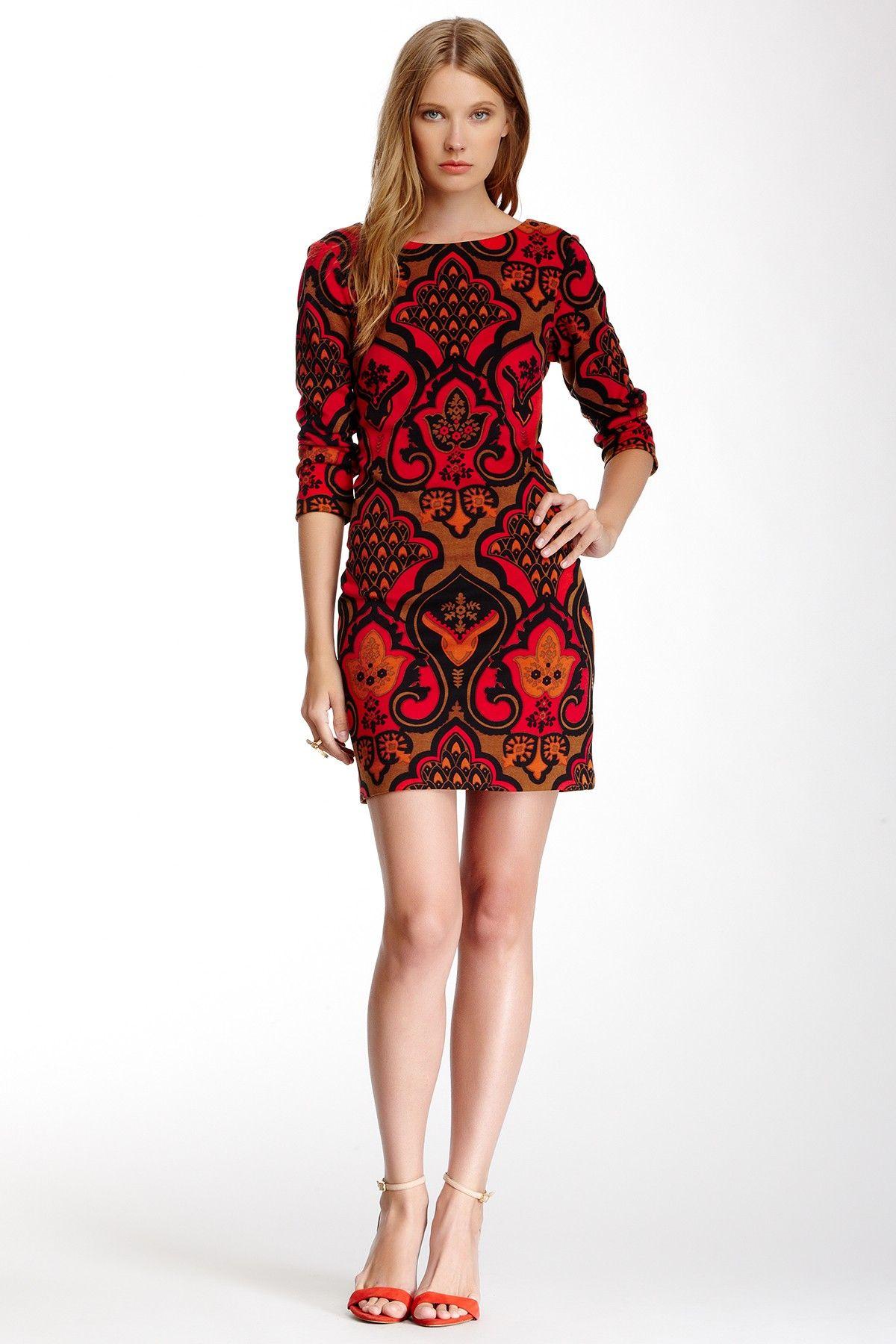 Ponte Shift Dress on HauteLook  #streetstyle