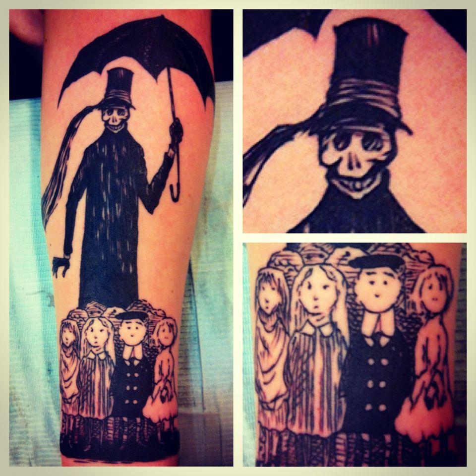 Gashlycrumb Tinies Tattoo Google Search With Images Creepy Cute Tattoos Skull Tattoo
