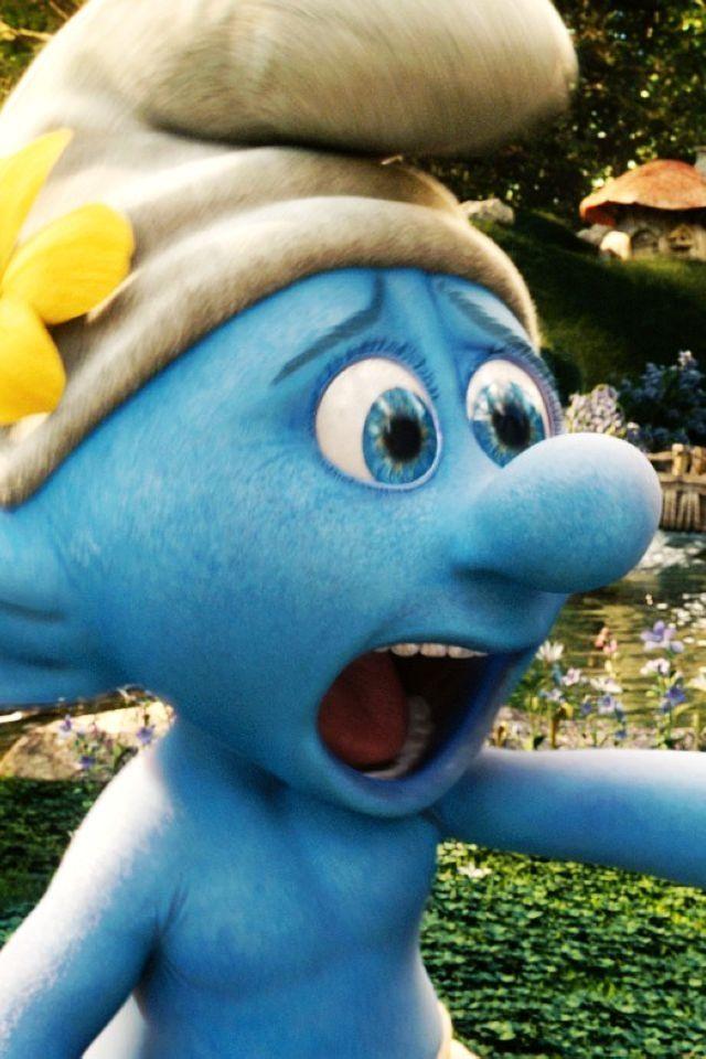 "I love that Brady loves the smurfs!! Actually as he says ""murfs, mom murfs""!"