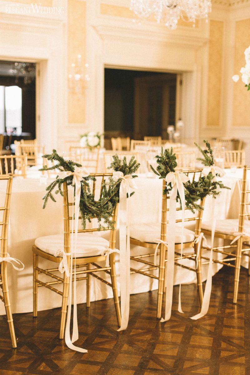 Luxury Christmas Chair Covers Cushions With Ties Uk Wreath For A Wedding Www Elegantwedding Ca