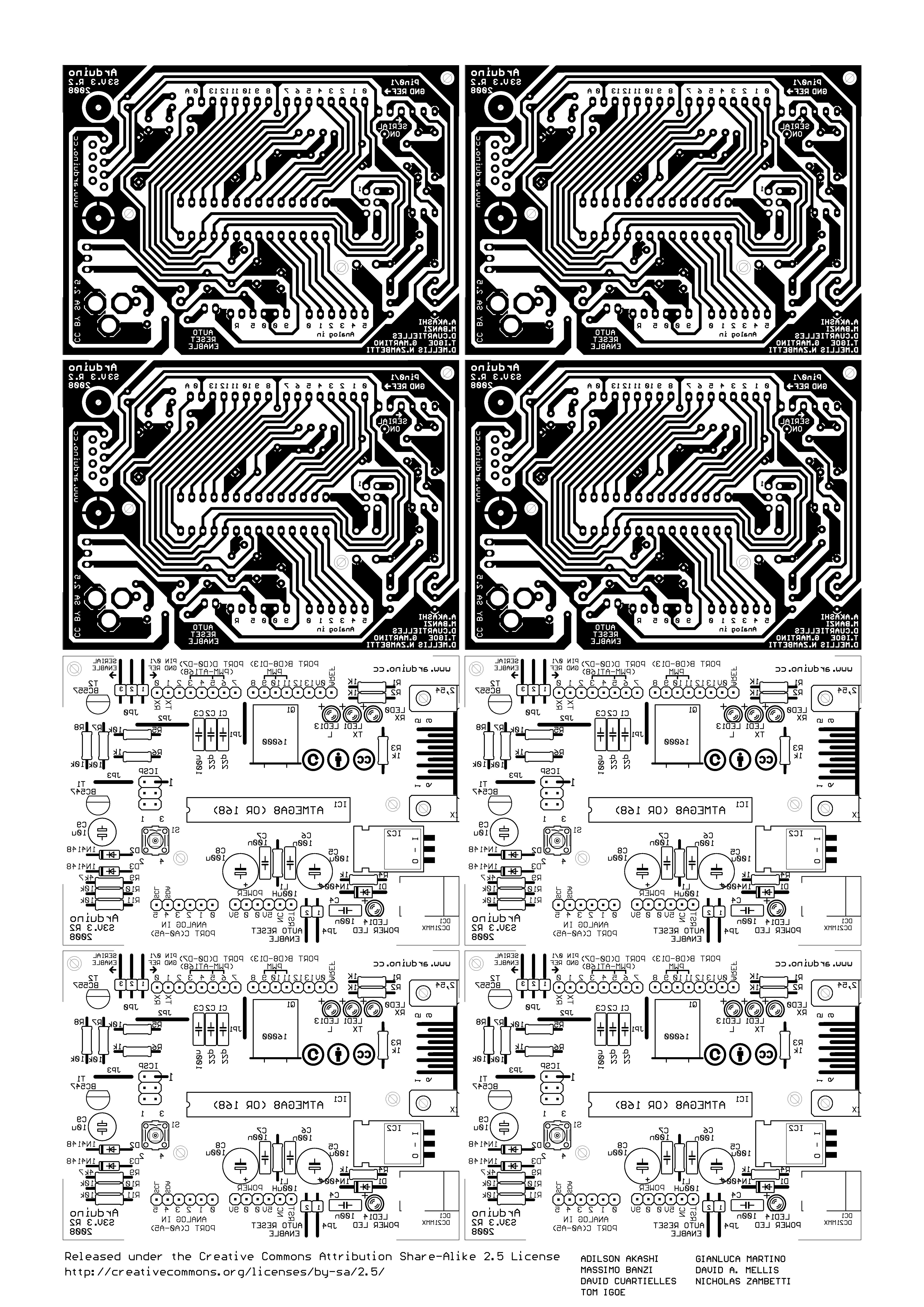Arduino Print Ready Schematic for PCB | Arduino | Pinterest | Arduino