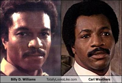 billy d williams carl weathers | Actors you thought were the same