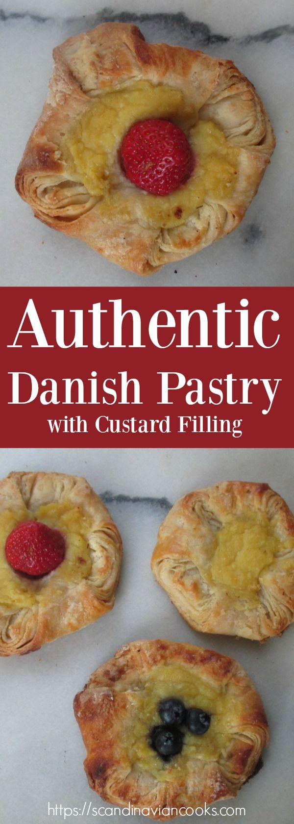I Love To Add Fresh Berries On My Danish Pastries Wienerbrod That Has A Custard Filling In The Center Especially Wh Recipes Danish Pastry Scandinavian Food