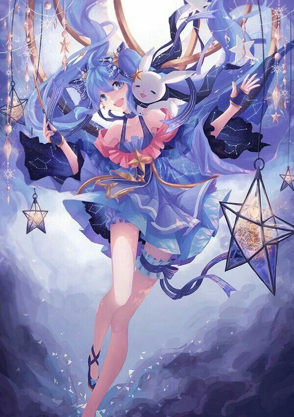Stardust : Vocaloid | Anime, Dễ thương, Hatsune miku