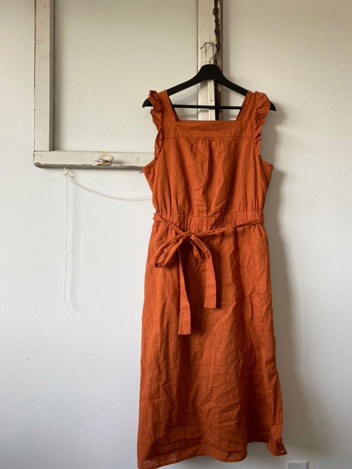 Womens Dress Burnt Orange Burnt Orange Dress Womens Dresses Dresses [ 1601 x 1200 Pixel ]