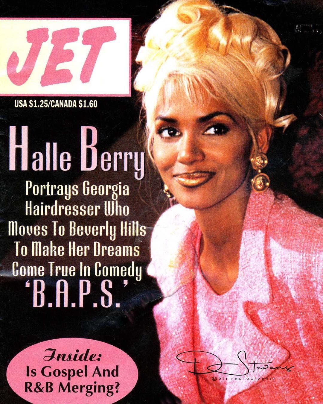 "Fabelhaft Halle Berry in ""B.A.P.S."" Used for cover JET A very fun movie to #QM_55"