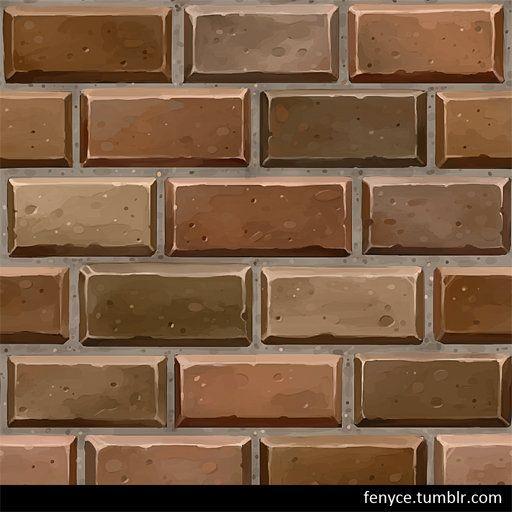hand painted brick textures bianca