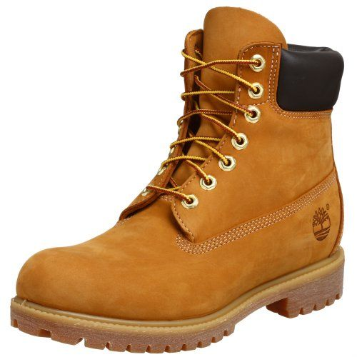 Timberland Men's 10061 6″ Premium Boot,Wheat,9 « Shoe Adds for your