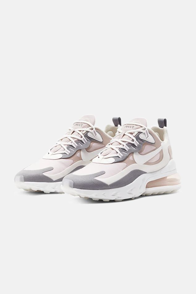 Women's Nike Air Max 270 React Shoes in Mauve, Siz