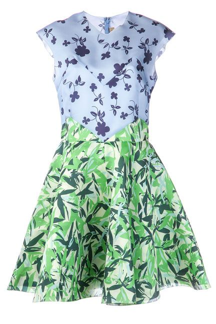 Elle Sasson Floral Flared Dress, $685; farfetch.com   - ELLE.com