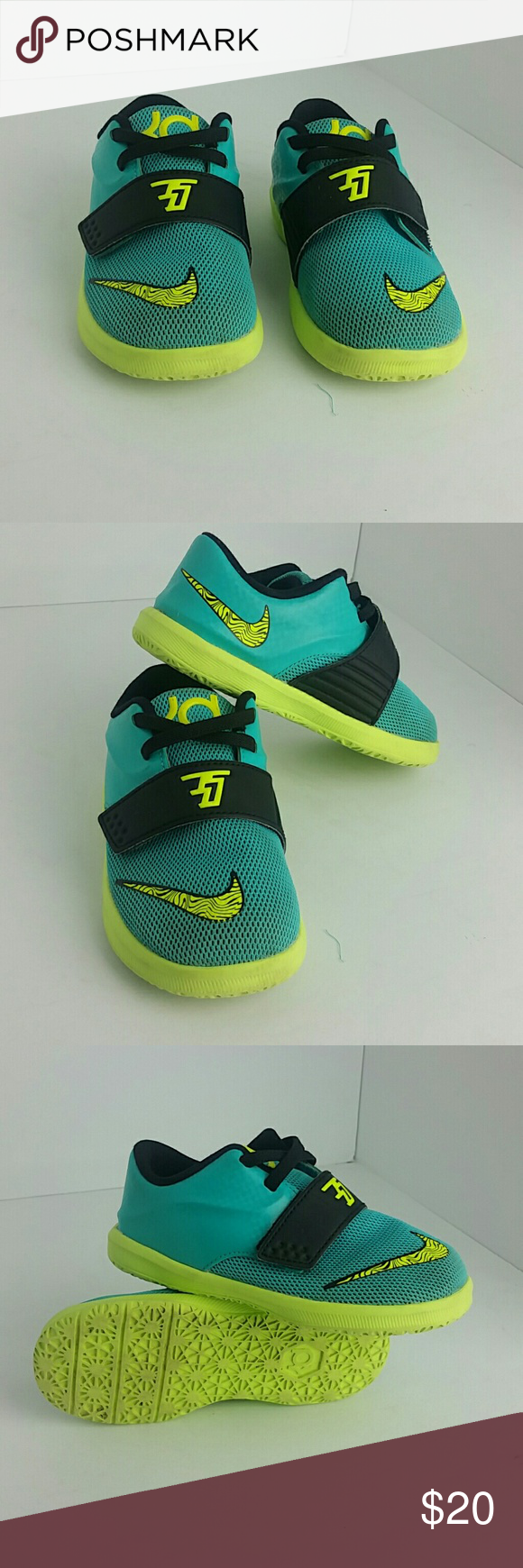 NIKE KD KIDS SHOES VERY CLEAN INSIDE-OUT   TODDLER SIZE 8C  SKE # DD2 NIKE  Shoes Sneakers