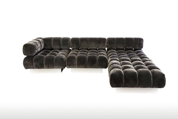 M2l Brand For Harvey Probber With Images Leather Living Room