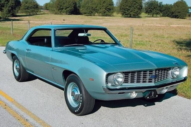 1969 Chevrolet Camaro Zl1 With 500 Horsepower There Were Only