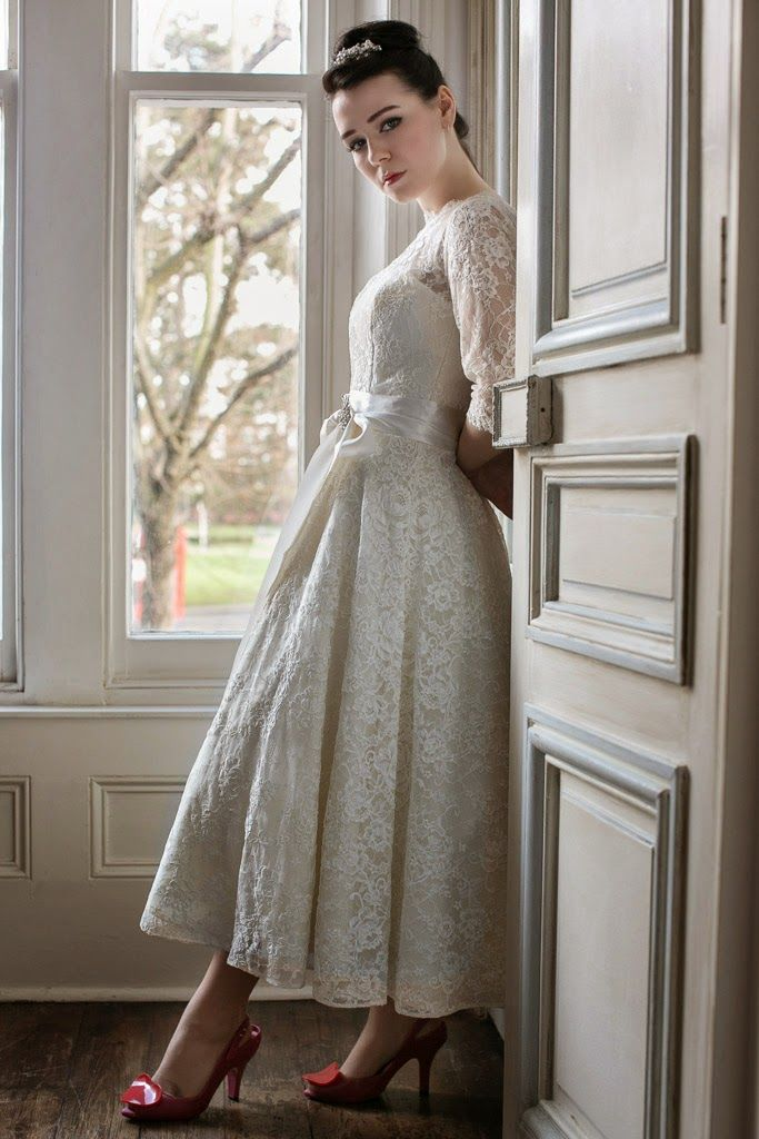 1950s wedding dress blog