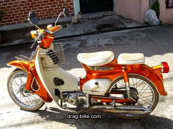 Modifikasi Honda C70 Original