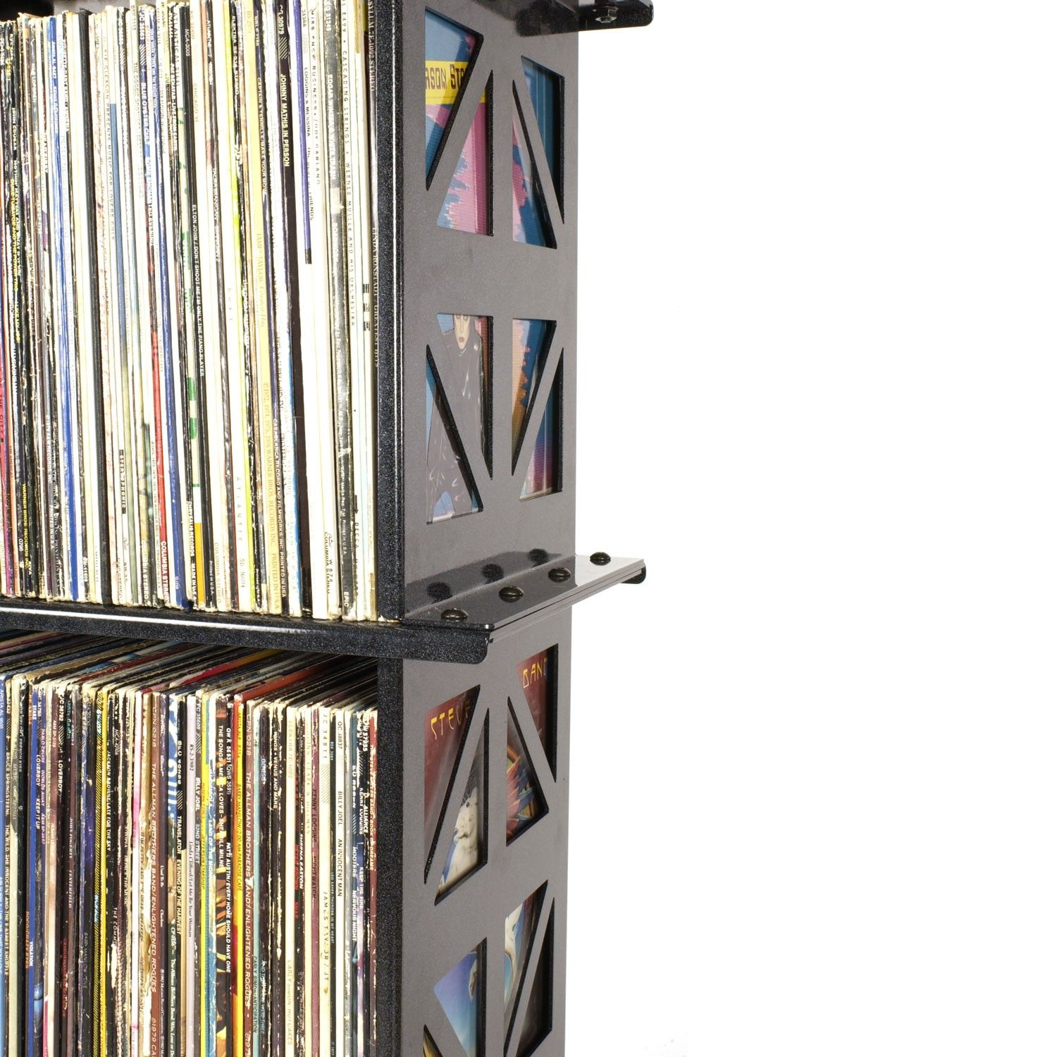 Lp Album Storage Rack (4 Shelves) By Boltz - Lp