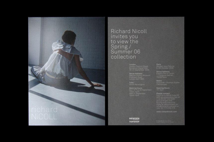 Richard Nicoll Invite