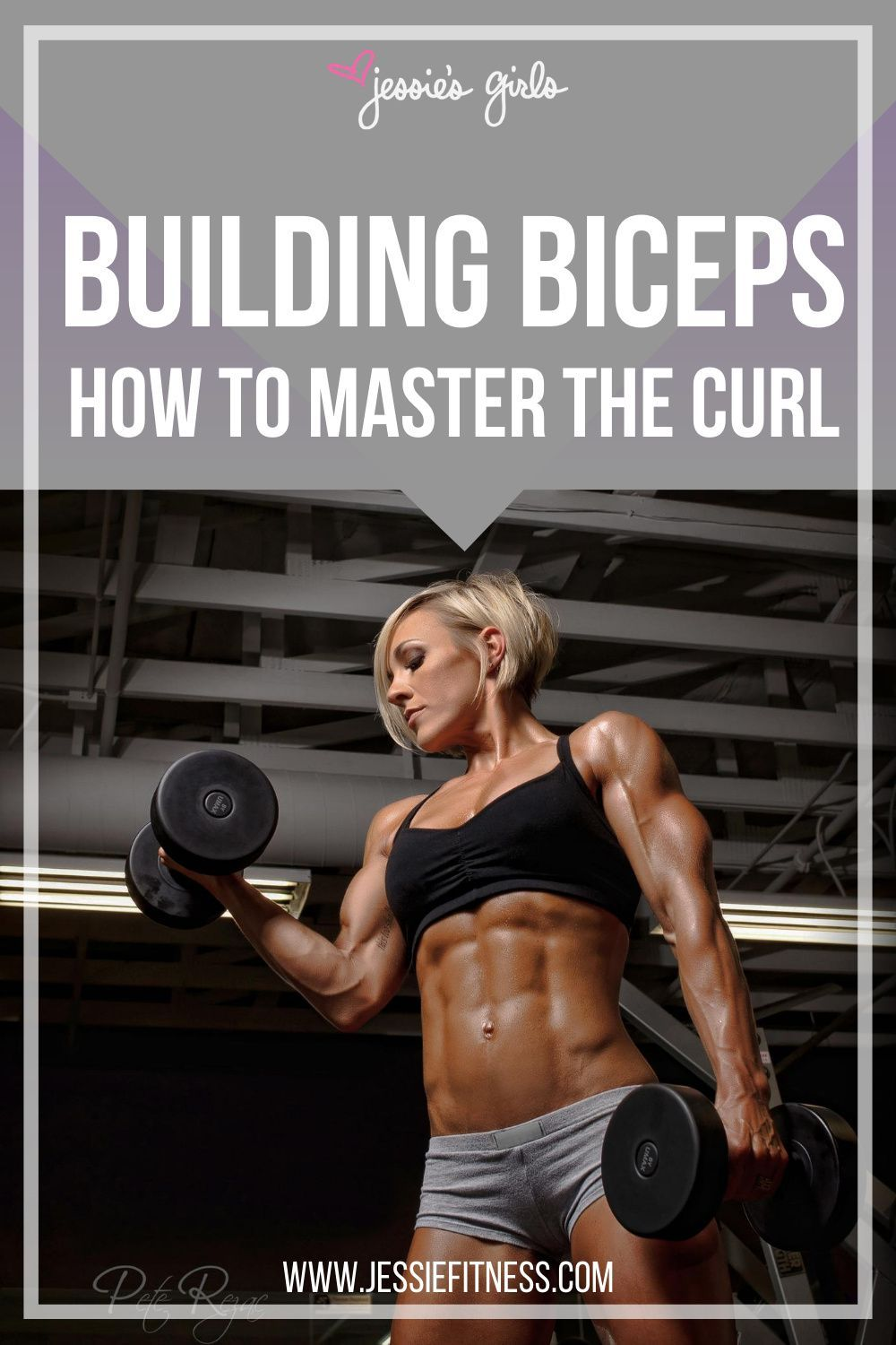 Bicep and Tricep Exercises for Women Gym and Home | Curls Workout