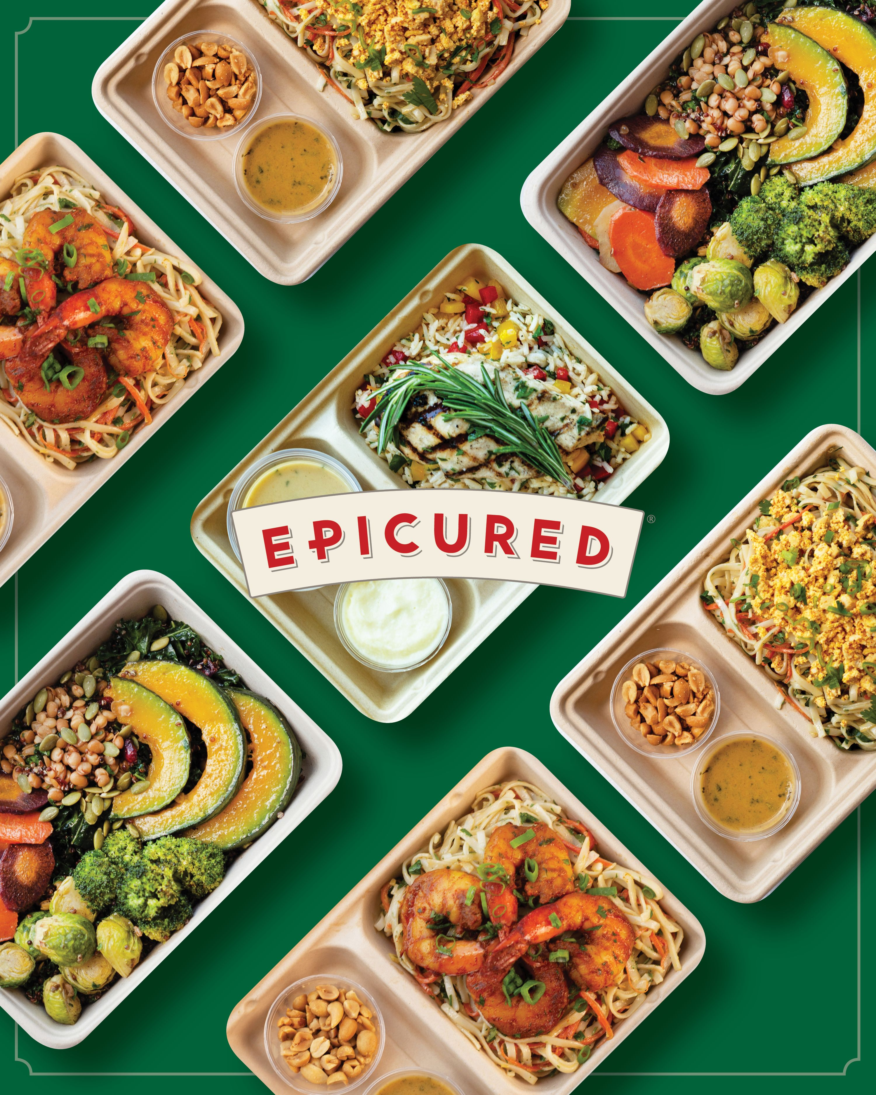 Epicured is a subscription meal delivery service that