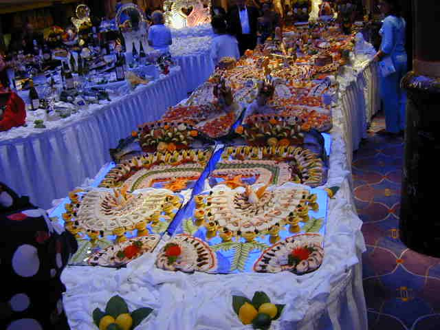 buffet food presentation | Cruise Ship Food Pictures from ...