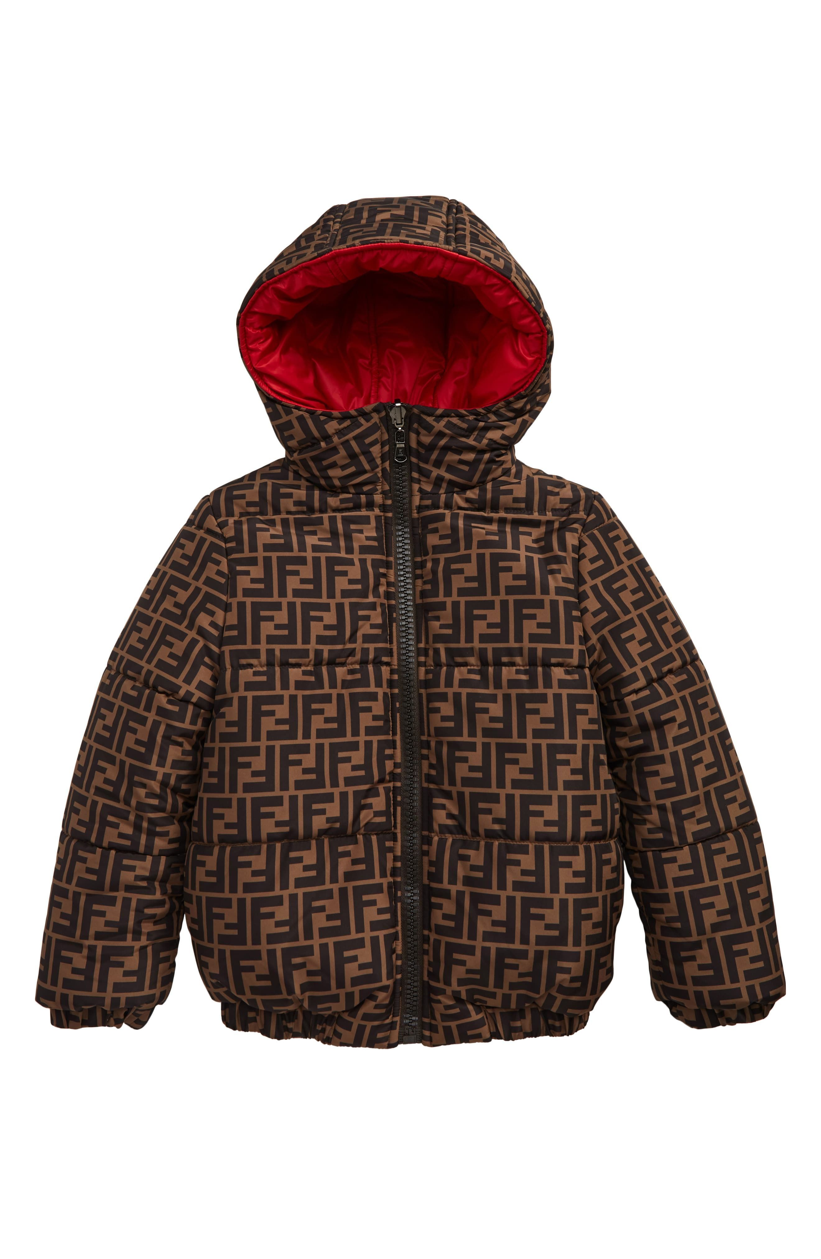 Fendi Reversible Hooded Puffer Jacket Little Kid Big Kid Nordstrom Kids Outfits Girl Outfits Stylish Kids [ 4048 x 2640 Pixel ]
